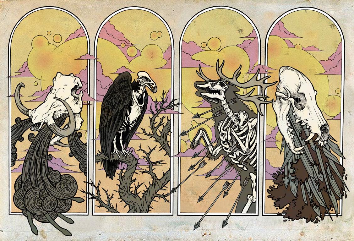 Рисунки Конец света