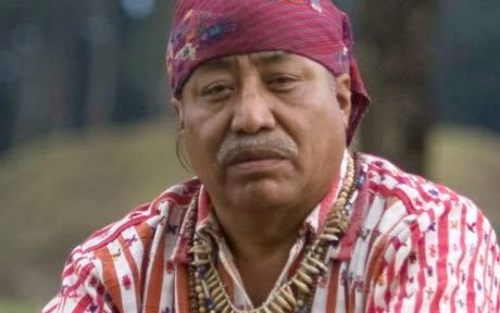 Аполинарий Чили Пикстун - старейшина современных индейцев майя, гватемалец