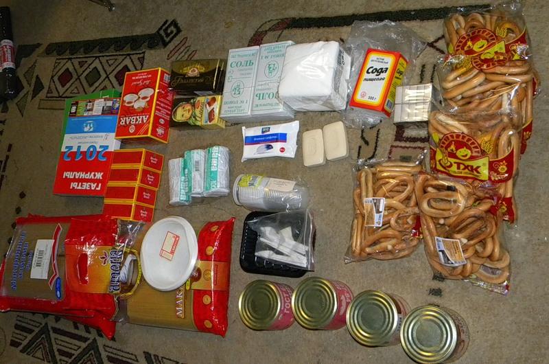 Набор продуктов для апокалипсиса